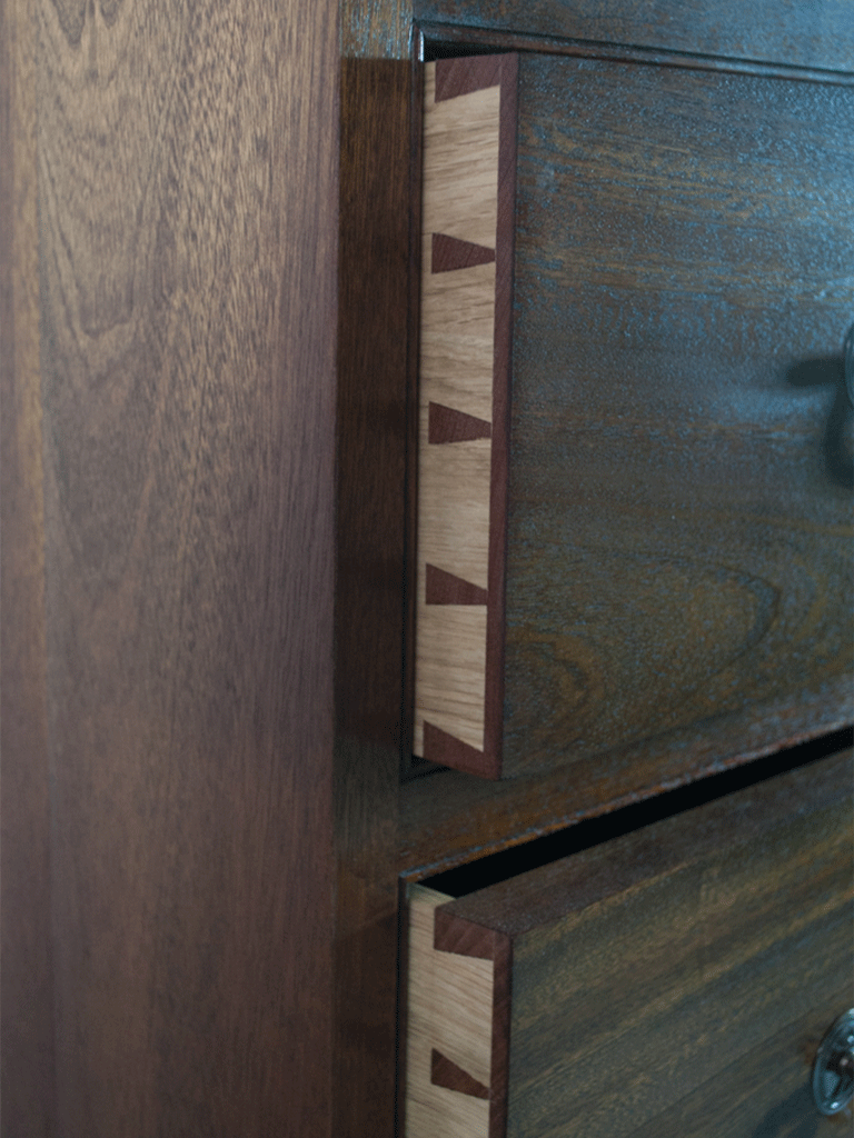 Hand cut Dovetails Image