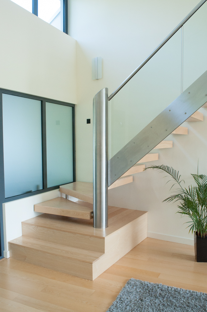 bespoke wooden stairs